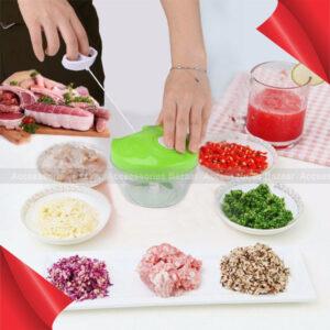 Manual Food Chopper Pull String Shredder Speedy Chopper Meat Processor