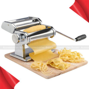 Noodle Pasta Maker Stainless Steel Machine Lasagne Spaghetti Tagliatelle