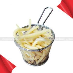 Kitchen Chips Wire Fine Mesh Oil Strainer Colander Sifter Sieve