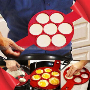 Silicone Cat Face Fried Egg Molds Pancake Cooking Tools Breakfast Template