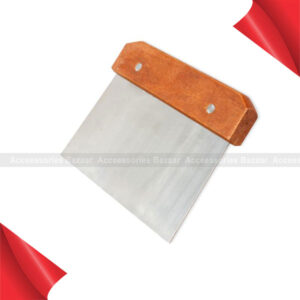 Cutter Soap Slicer Handle Dough Making Hardwood Stainless Straight