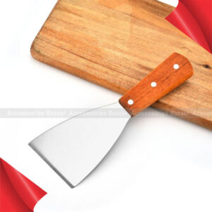 Cake Shovel Scraper Pizza Pastry Spatula Stainless Steel Blade With Wood Handle