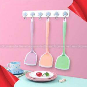 Resistant Seamless Heat Turner Slotted Food One-Piece Grade Silicone Cooking