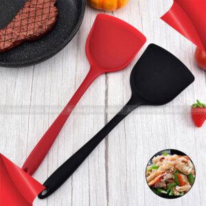 1PC High Temperature Non-Stick Spatula Silicone Cooking Shovel Food Grade