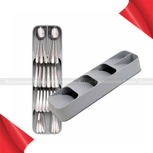 Practical Drawer Organizer Tray Spoon Cutlery Separation Storage Box