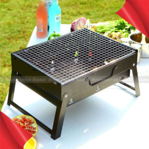Portable Grill Tool Outdoor Picnic Garden Party Terrace BBQ Grills Plate Charcoal
