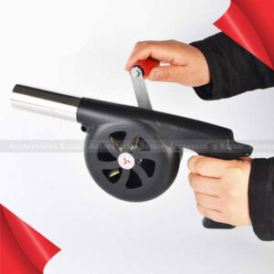 Manual BBQ Blower Fan, Mini Hand Grill Fire Starter or Barbecue