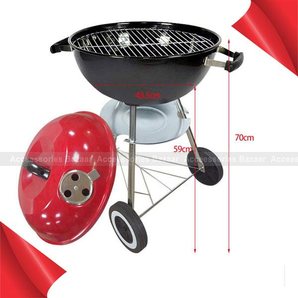 Trolley BBQ Grill