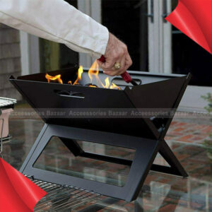 Charcoal Notebook BBQ Grill Outdoor Garden Folding Portable Camping Picnic