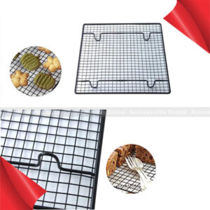 Stainless Steel Wire Grid Cooling Cake Tray Food Rack Oven Rack Kitchen