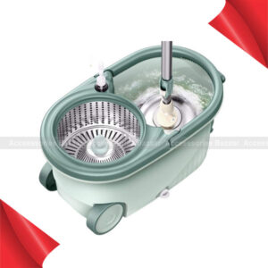 360 Spin Mop & Bucket Floor Cleaning System Included Handle