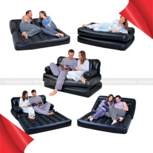 Bestway Air Sofa Cum 5 in 1 Double Multi-Functional Couch
