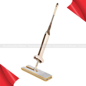 360 Degrees Lazy Double-Sided Flat Mop Hands-Free Washable Floor Cleaning ToolThe flat mop can stand on the floor without leaning on the wall to save space