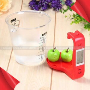 1000g Electronic Digital Kitchen Weight Scale Measurement Cup with LCD Display