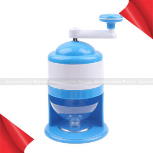 Ice Crusher Shaving Machines Mini Snow Manual Cone Makers Household Shaver Tool