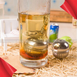 Tea Infuser Mesh Filter Stainless Steel Ball Strainer Loose Leaf Spice Reusable